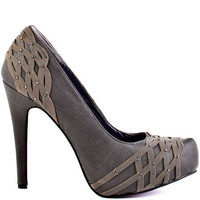 Just Fabulous&#x27;s Grey Mimi - Grey for 59.99 direct from heels.com
