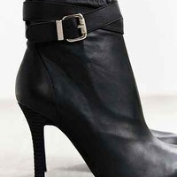 Jeffrey Campbell Belair Heeled Ankle-Boot- Black