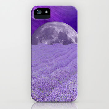 LAVENDER MOON iPhone & iPod Case by Catspaws | Society6