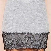 Lace to the Finish Skirt