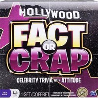 Fact or Crap Hollywood Board Game
