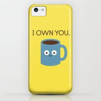 Coffee Talk iPhone & iPod Case by David Olenick