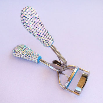 BLUE Bling Eyelash Curler