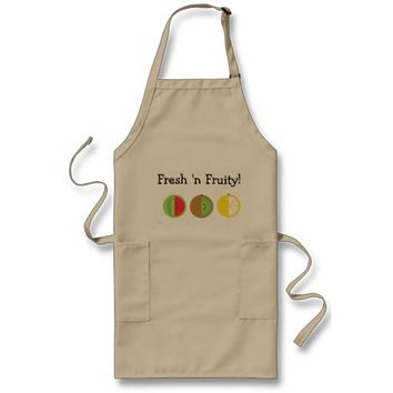 Fresh 'n Fruity Long Apron (Adults)