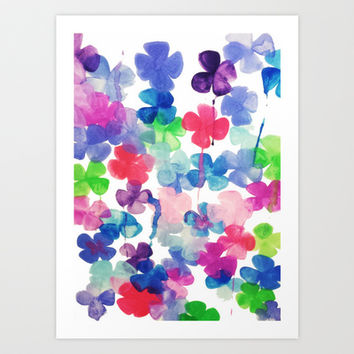 Garden Art Print by DuckyB (Brandi)