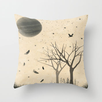 When I dream Throw Pillow by DuckyB (Brandi)