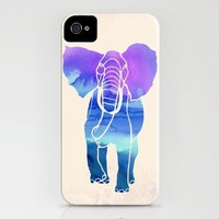 Watercolor Elephant iPhone Case by Jacqueline Maldonado | Society6