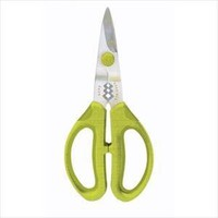 Silvermark Herb &amp; Garden Snips Green Micro-Serrated Blades Easy Cleaning Dishwasher Safe