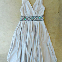 Feminine Silver Embelli Dress [2934] - $54.00 : Vintage Inspired Clothing & Affordable Summer Dresses, deloom | Modern. Vintage. Crafted.