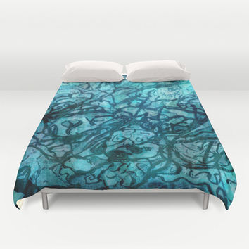Revision of my inner world #1 Duvet Cover by Barruf designs