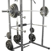Valor Athletics Inc. BD - 7 Power Rack with Lat Pull