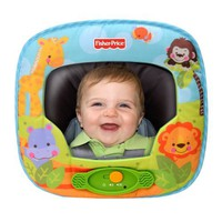 Fisher Price Precious Planet Deluxe Auto Mirror with Music