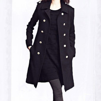 wool coat 078 by YL1dress on Etsy