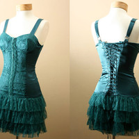 ON SALE 4th of July  The Belladonna Dress / Bustier by PYTboutique
