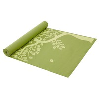 Gaiam Tree of Life 3-mm Thick Yoga Mat