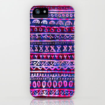 Hau'oli Stripe Purple iPhone & iPod Case by Schatzi Brown | Society6