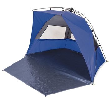 SheilaShrubs.com: Haven Sun Shelter - Blue 111-00-139-000-0 by Picnic Time : Camping Tents & Shelters