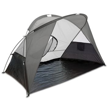SheilaShrubs.com: Cove Sun Shelter - Grey 112-00-105-000-0 by Picnic Time : Camping Tents & Shelters