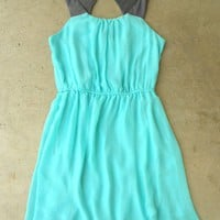 Portofino Mint Party Dress [2577] - $36.00 : Vintage Inspired Clothing & Affordable Summer Dresses, deloom | Modern. Vintage. Crafted.