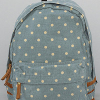 *Accessories Boutique The Dot Print Backpack in Blue : Karmaloop.com - Global Concrete Culture