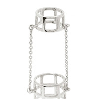 Chained Cutout Ring