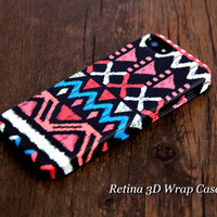 Native American iPhone 6 Plus/6/5S/5C/5/4S/4 3D Wrap Case - iPhone