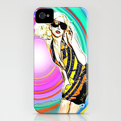 Lady Gaga iPhone Case by JT Digital Art  | Society6