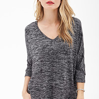 Heathered Knit Top