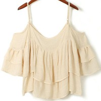 Superb Pleated Linen Cami