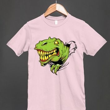 T Rex Ripped A Whole In The Shirt - Other styles and colors are available