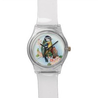 Wrist Watch - Blue Tit