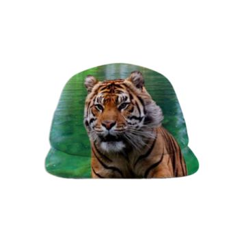 Tiger Baseball Hat created by ErikaKaisersot | Print All Over Me