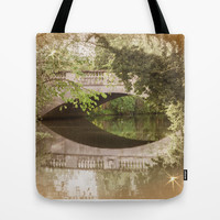 A PEACE OF BRIDGE Tote Bag by Catspaws   Society6