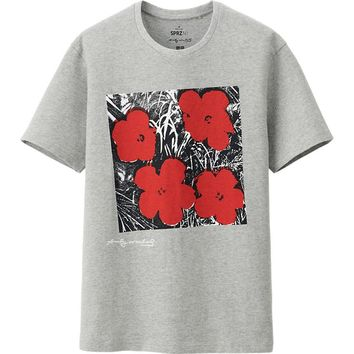 MEN SPRZ NY GRAPHIC SHORT SLEEVE T SHIRT (ANDY WARHOL) | UNIQLO