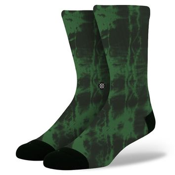 Stance | Burnout Green Green socks | Buy at the Official website Main Website.