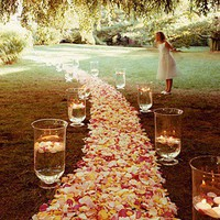 Rose-Covered Aisle - Wedding Decorations We Adore - You're Engaged! - MarthaSte