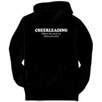 Cheerleading Where The Weak Are Killed And Eaten Mens Hoodie