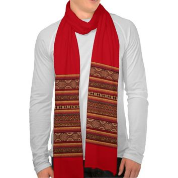 Native Indian Pattern Scarf