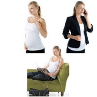 Maternity Essentials - Nursing Tank with Built in Hands-free Pumping Support