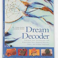 Dream Decoder: Reveal Your Unconscious Desires By Fiona Flaxman & Fiona Zucker - Urban Outfitters