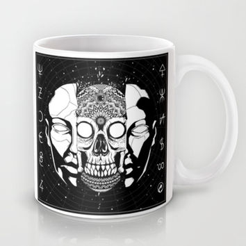 What hides beneath the mask Mug by Lokhaan