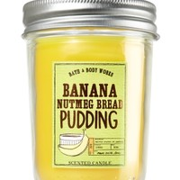 Mason Jar Candle Banana Nutmeg Bread Pudding