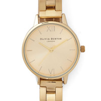 Olivia Burton Luxe Teacup and Running Watch in Gold