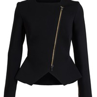 ROLAND MOURET | Stretch-Crepe Peplum Jacket | Browns fashion & designer clothes & clothing