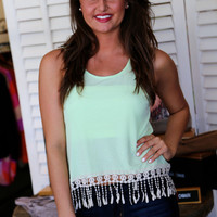 Your Finest Fringe {Tank}