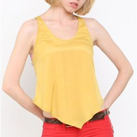 Ladakh Hells Cats Top- Ladakh Yellow Zipper Tops- $47.99