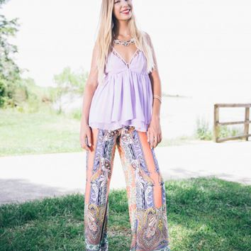 Luxe in Lavender Top - Lotus Boutique