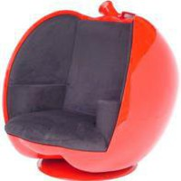 apple chair, modern chair