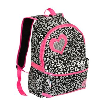 GIRLS' TWINKLE TOES: CHEETAH PUFF METALLIC BACKPACK