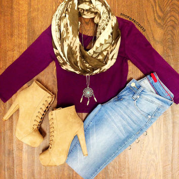 Lani Crop Top - Purple